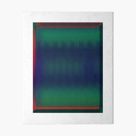 Abstract Wave Art Board Print