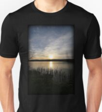 Side Wide Sunset Unisex T-Shirt