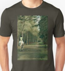 A Sunday horse ride off the beaten track Unisex T-Shirt