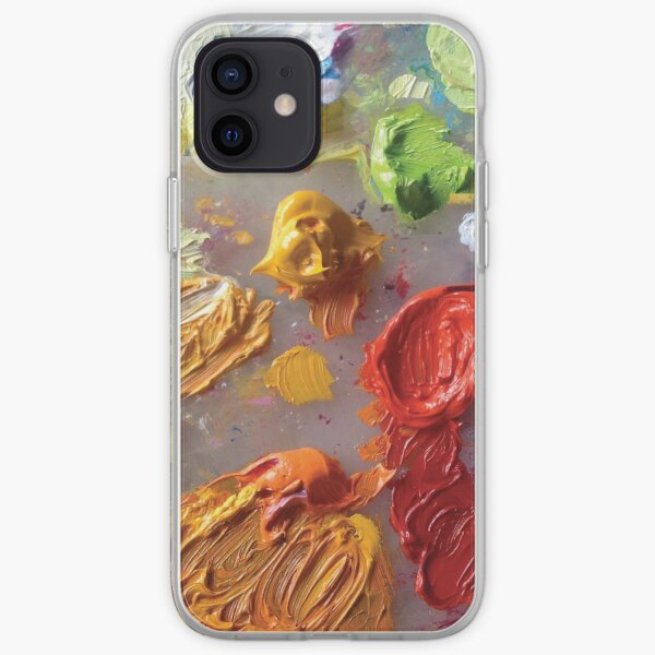 Painting Palette iPhone Soft Case