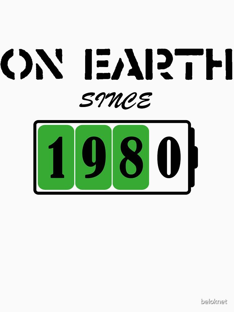 On Earth Since 1980 by beloknet