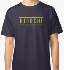 Bianchi Vintage Racing Bicycles Italy Classic T-Shirt