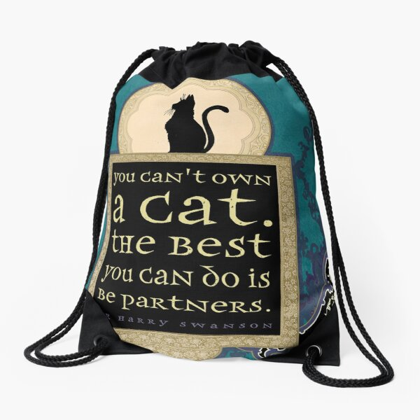 You Can't Own a Cat Drawstring Bag