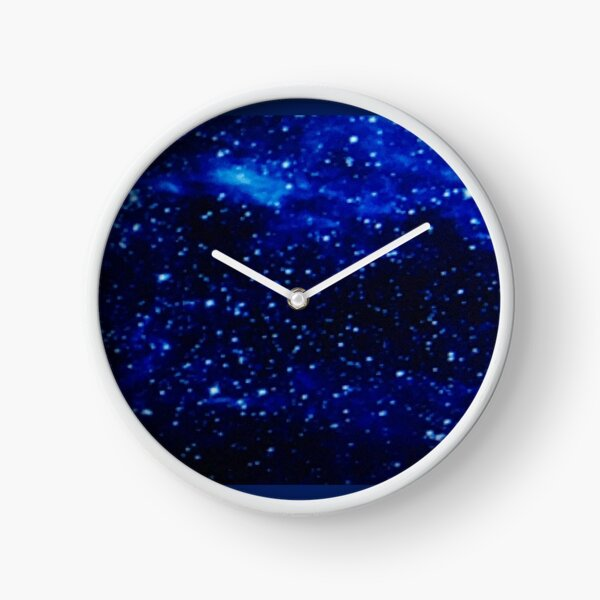 Space, The Final Frontier Clock