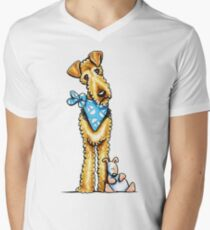 Airedale Terrier & Puppy T-Shirt