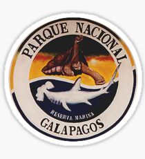 Galapagos-Nationalpark Sticker