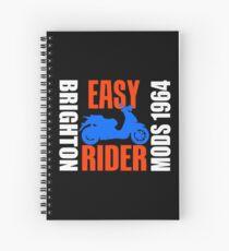 EASY RIDER-BRIGHTON 1964 Spiral Notebook