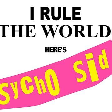 Sycho Sid wrestling by Waygood83