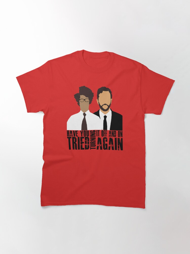 Alternate view of IT Crowd  Classic T-Shirt
