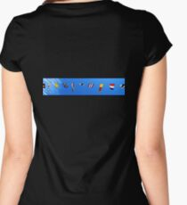 Nautical Flags Women's Fitted Scoop T-Shirt