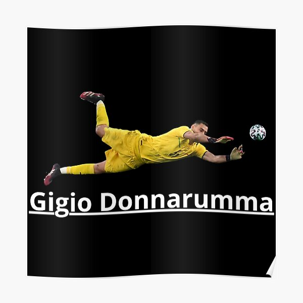 Gianluigi Donnarumma Penalty Save Poster