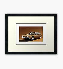 Poster artwork - Citroen CX 2000 Framed Print