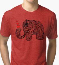 Elephant Love Tri-blend T-Shirt