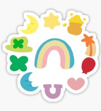 The Luckiest Charms Sticker