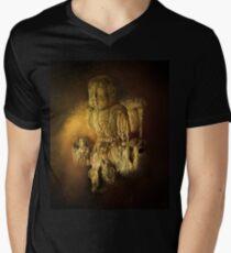 WATERBOY AS THE BUDDHA Men's V-Neck T-Shirt