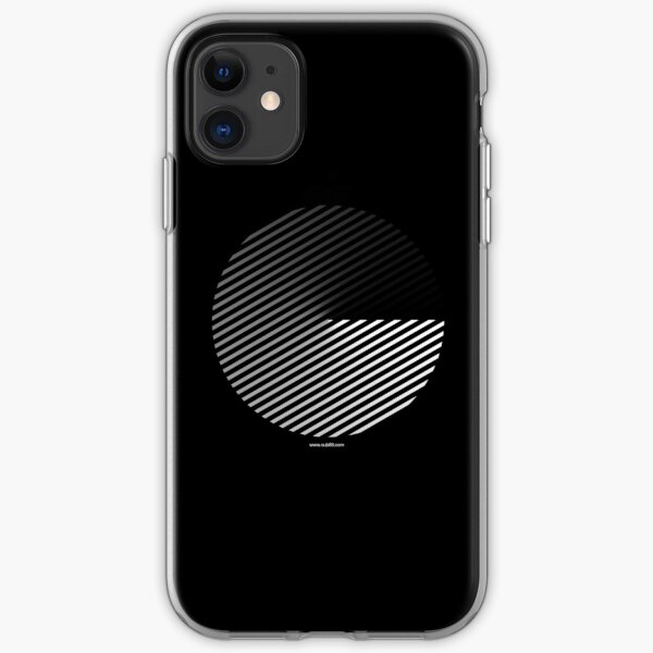 Stripes can be in a disc iPhone Soft Case