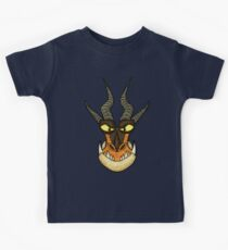 How to Train Your Dragon - Monstrous Nightmare Face Kids Tee