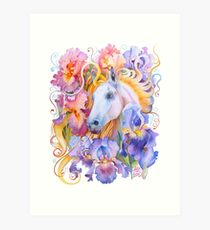 """Year of the Horse"" - Chinese Zodiac Watercolour Art Print"