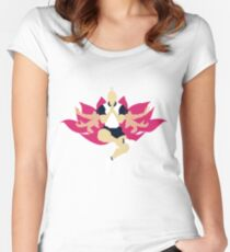 Netero Lotus Women's Fitted Scoop T-Shirt