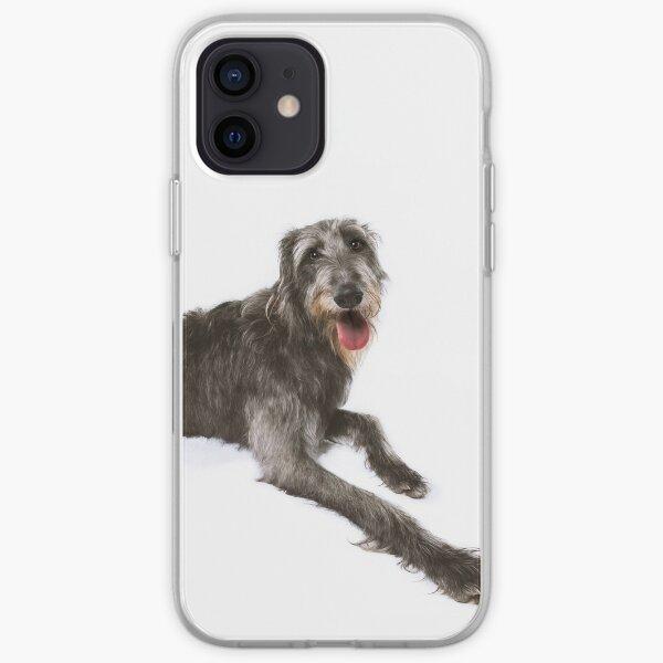 Bean the Scottish Deerhound iPhone Soft Case