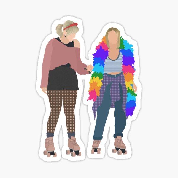 Kate and Mallory  Sticker