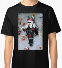 Motorcycle Snowman Classic T-Shirt