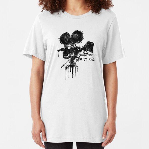 Keep it Reel. Slim Fit T-Shirt