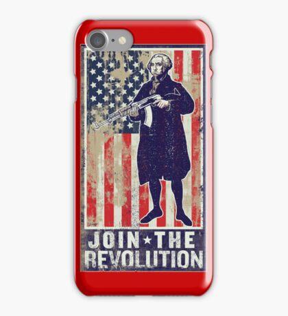 Join The Revolution Washington iPhone Case/Skin