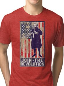 Join The Revolution Washington Tri-blend T-Shirt