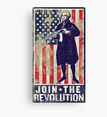 Join The Revolution Washington Canvas Print