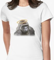 Harambe Women's Fitted T-Shirt