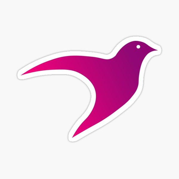 The flying bird Sticker