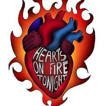 Hearts on fire tonight by sheelight