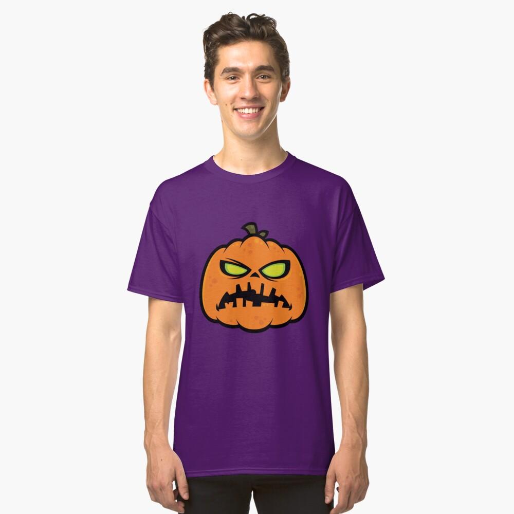 Pumpkin Zombie Classic T-Shirt