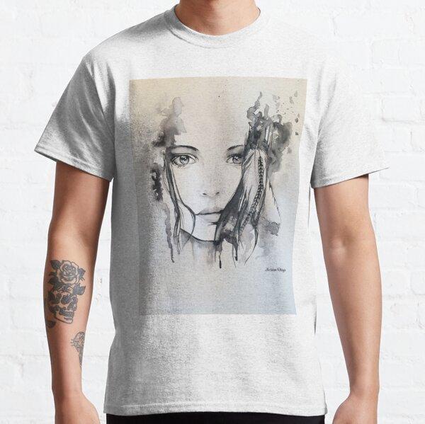 Element-Series AIR Watercolor Portrait Classic T-Shirt