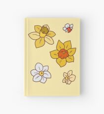 Colorful Daffodils Hardcover Journal