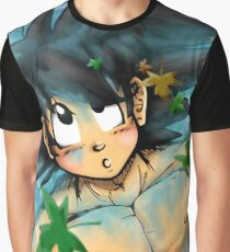 Delighted Goku Graphic T-Shirt