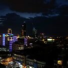 Phnom Penh Nightfall by V1mage