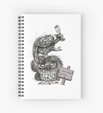 Dont drik and fly Spiral Notebook