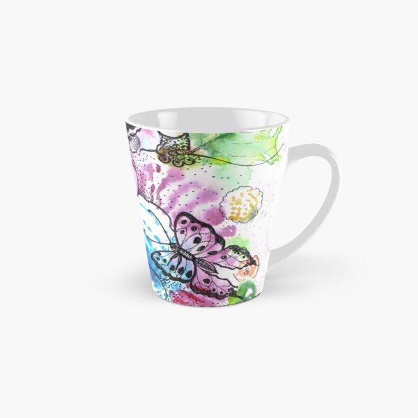 Flowers and butterflies Tall Mug