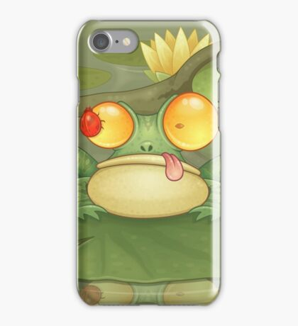 Swamp Snack iPhone Case/Skin