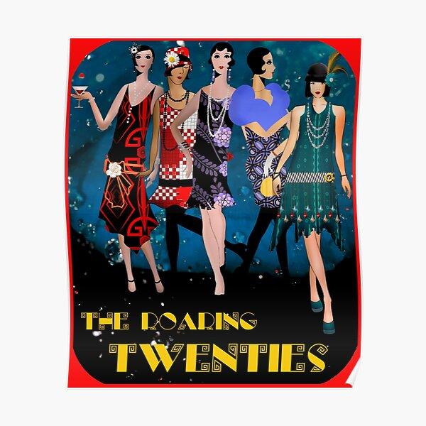 Roaring Twenties Dancers         Poster
