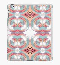 Mirrored pastles iPad Case/Skin