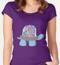 Gumball Machine Tortoise Women's Fitted Scoop T-Shirt