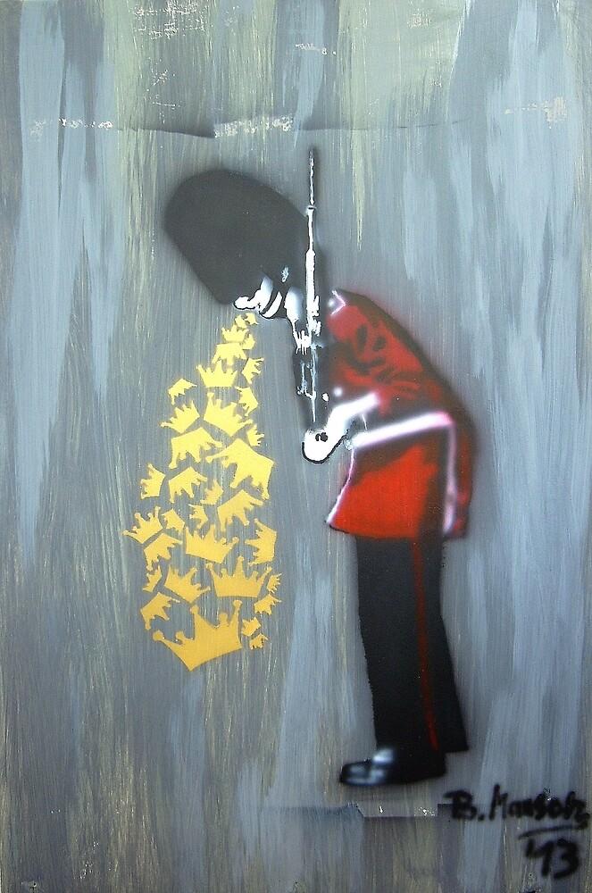 Puke Royal Guard (original sprayed version) by Bela-Manson