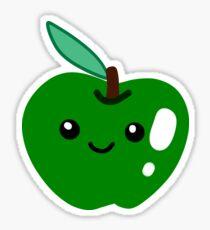 Cute Green Apple Sticker