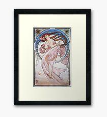 Alphonse Mucha - La Dansedance Framed Print