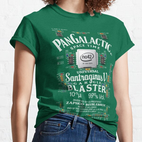 Pan Galactic Gargle Blaster - Circuit Board Classic T-Shirt