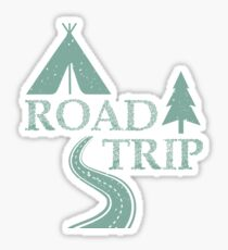 Road Trip Sticker