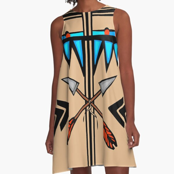 Native A-Line Dress